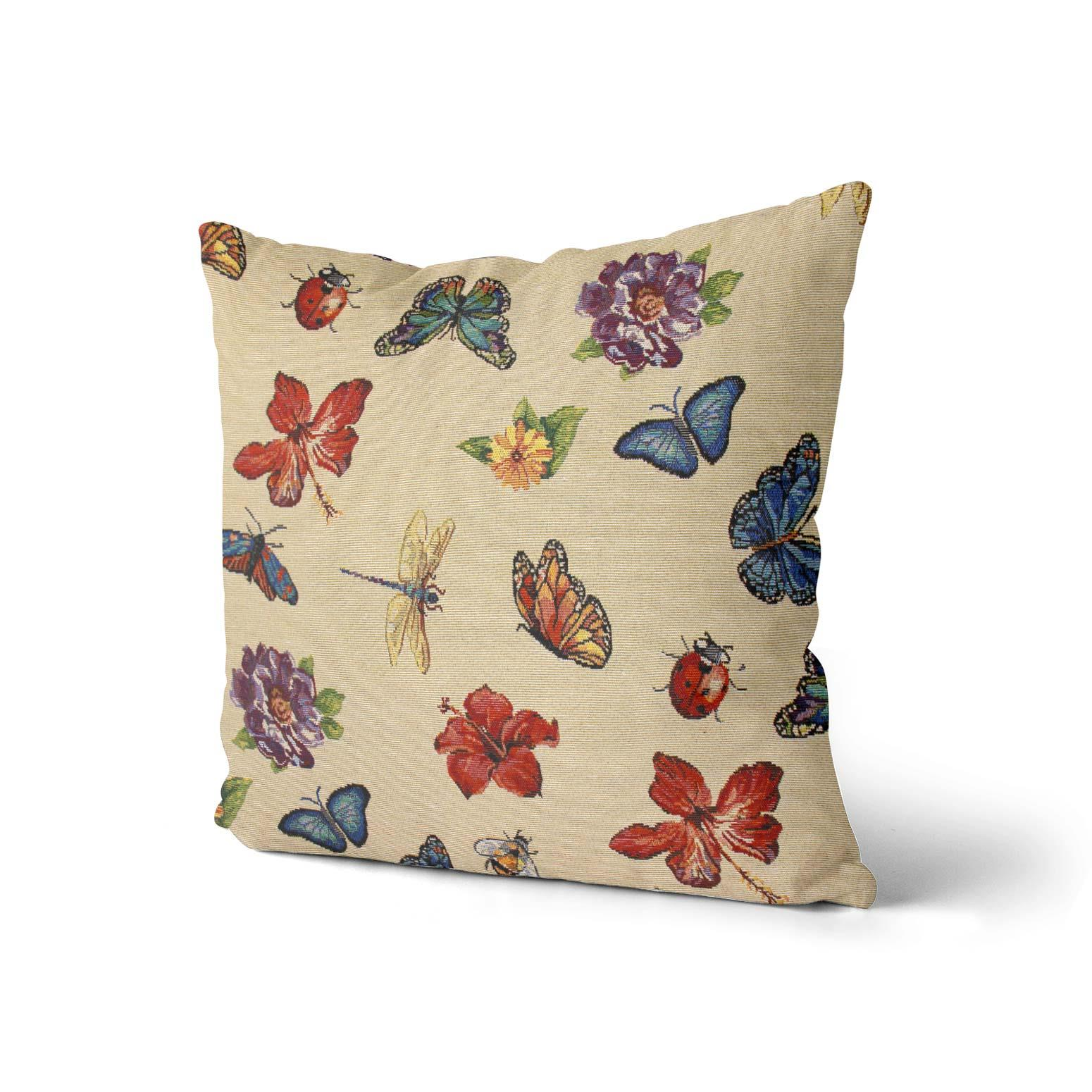 Tapestry-Cushion-Covers-Vintage-Pillow-Cover-Collection-18-034-45cm-Filled-Cushions thumbnail 109