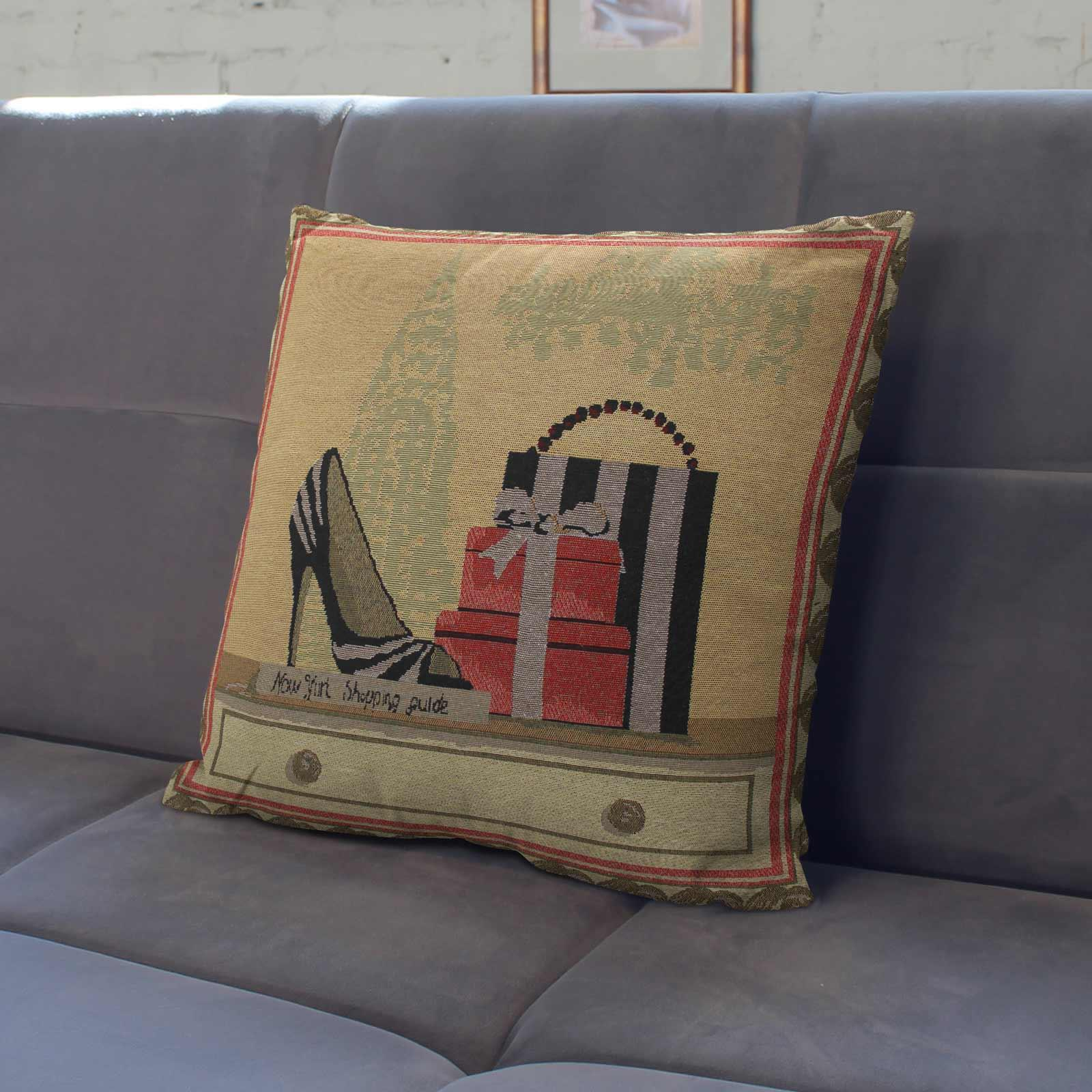 Tapestry-Cushion-Covers-Vintage-Pillow-Cover-Collection-18-034-45cm-Filled-Cushions thumbnail 147