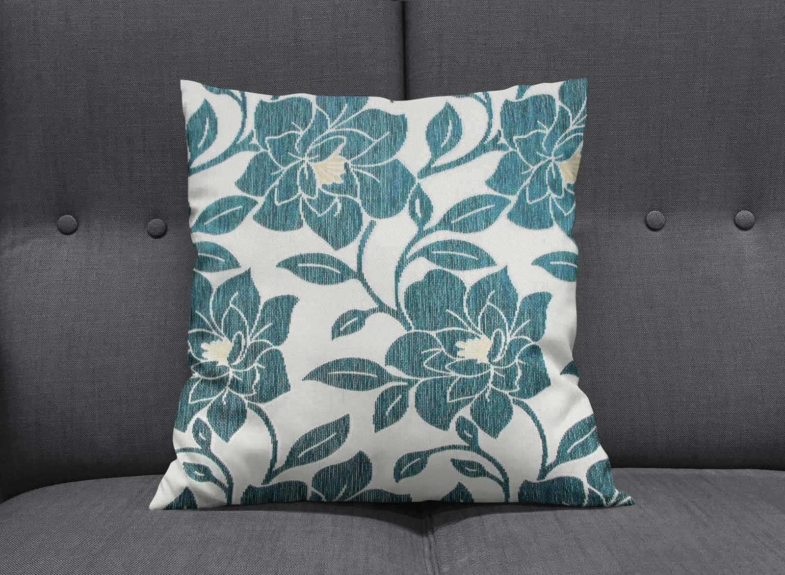 Teal-Blue-Duck-Egg-Cushion-Covers-18-034-x18-034-45cm-x-45cm-Luxury-Cover thumbnail 44