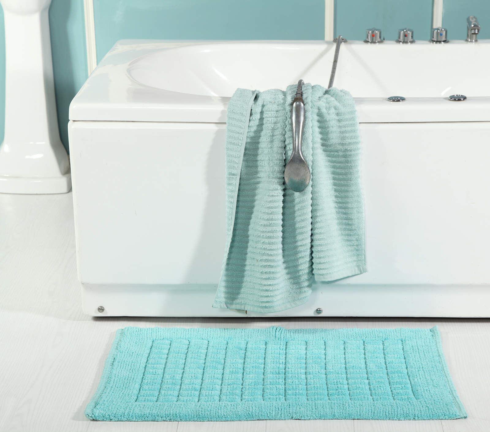 Tapis Salle De Bain Super Absorbant ~ sevilla 100 cotton modern squares bath mat luxury absorbent shower