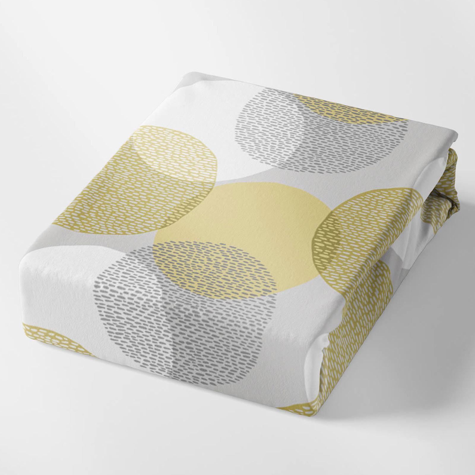 Mostaza-amarillo-ocre-Funda-de-edredon-impreso-Edredon-juego-ropa-de-cama-cubre-conjuntos miniatura 49