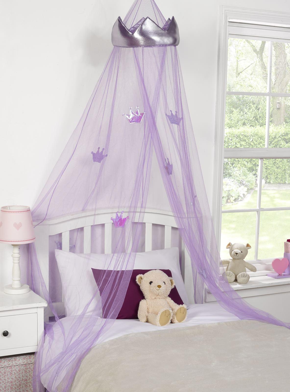 Betthimmel, Prinzessin, Moskitonetz, Kinderschlafzimmer, lila ... | {Kinderschlafzimmer 39}
