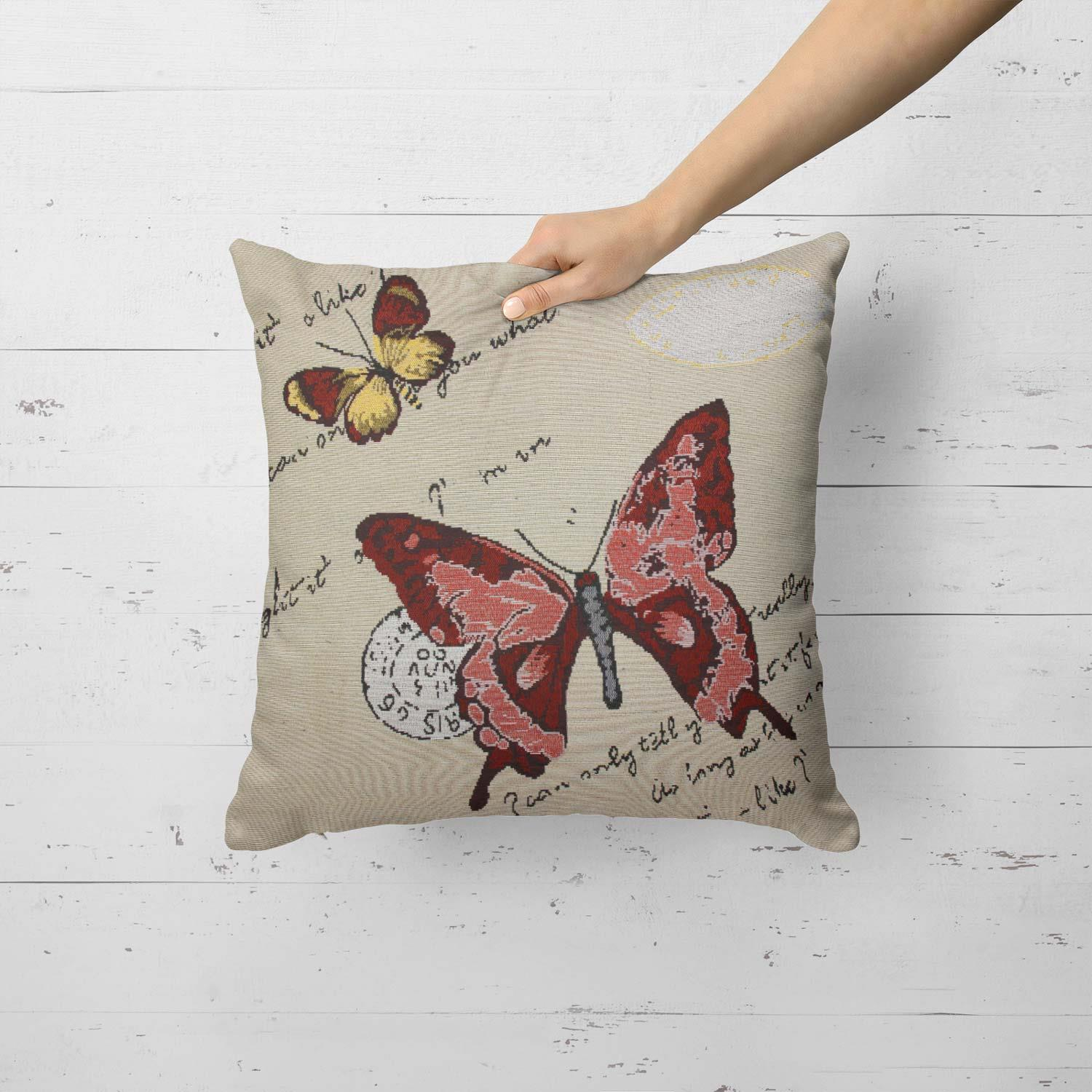 Tapestry-Cushion-Covers-Vintage-Pillow-Cover-Collection-18-034-45cm-Filled-Cushions thumbnail 15