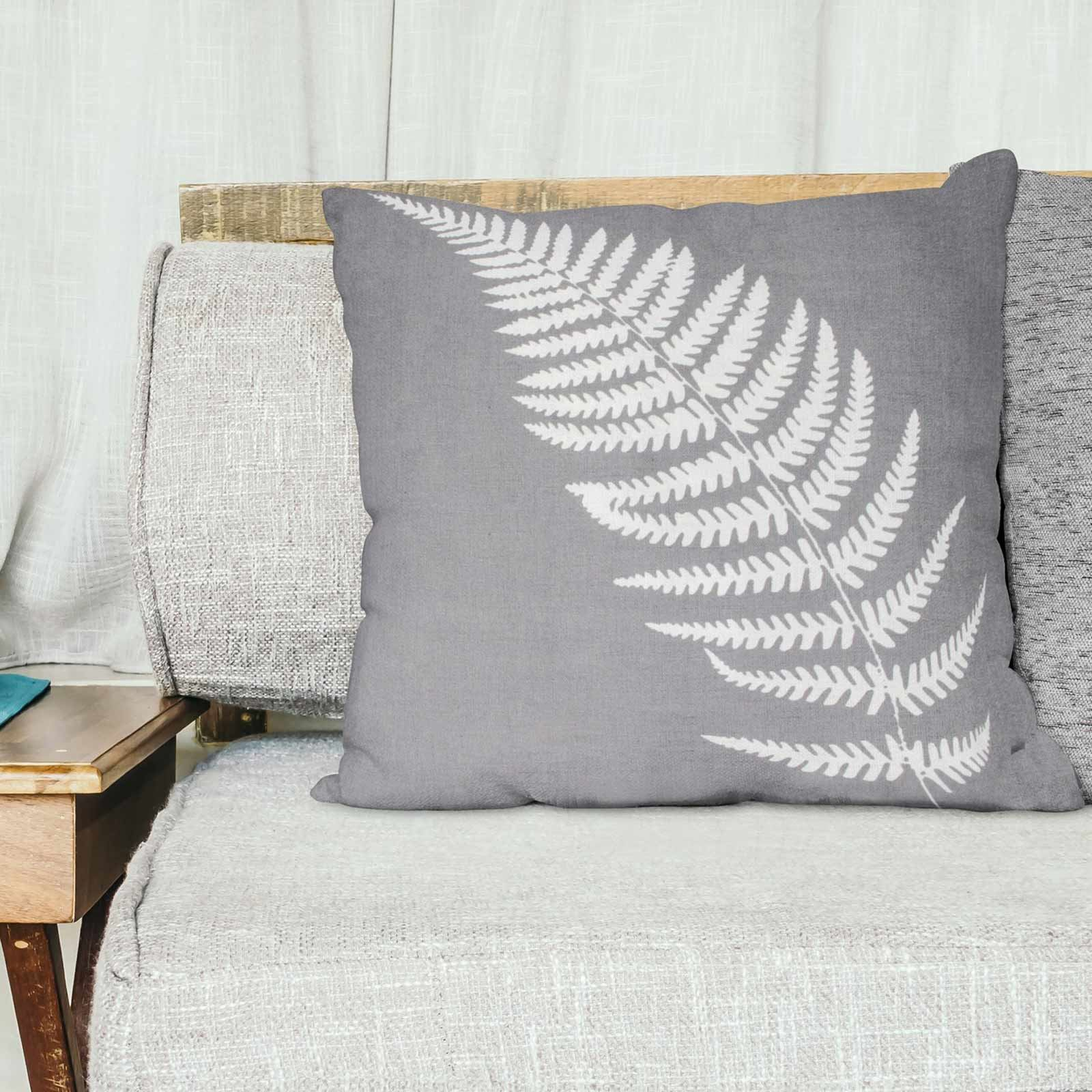 Grey-Ochre-Mustard-Cushion-Cover-Collection-17-034-18-034-Covers-Filled-Cushions thumbnail 79