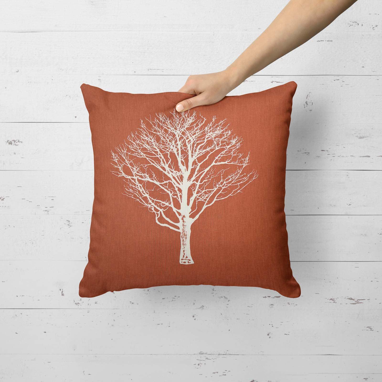 Woodland-Trees-Cushion-Cover-Modern-Reversible-Tree-Print-Covers-17-034-x-17-034 thumbnail 14
