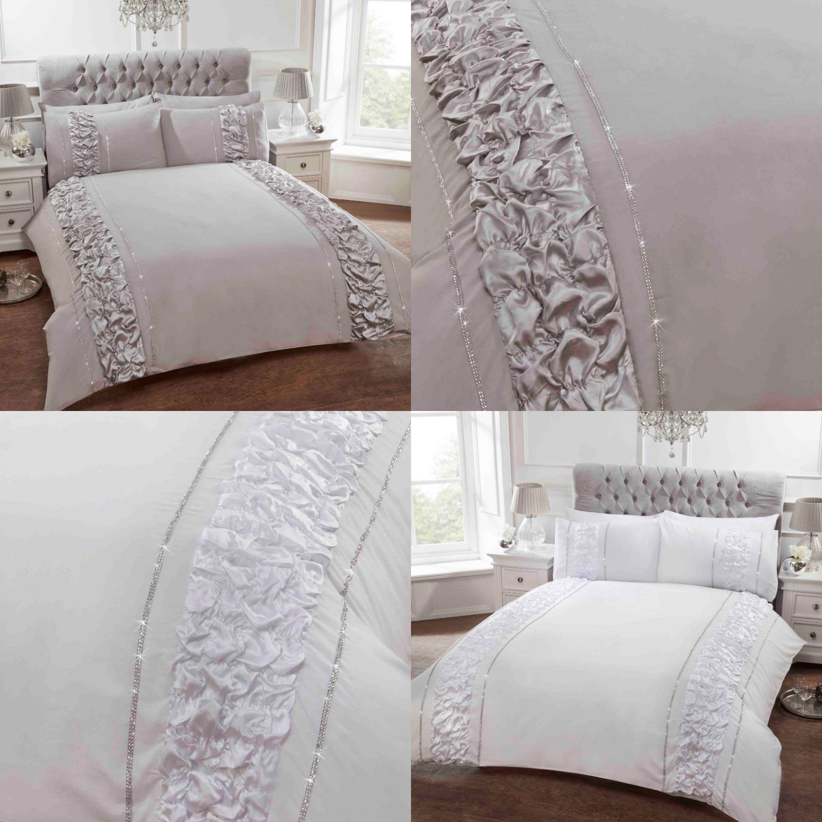 Home & Garden Duvet Covers & Bedding Sets Diamante Duvet Covers ...