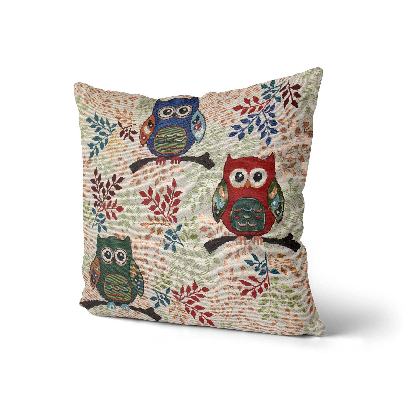 Tapestry-Cushion-Covers-Vintage-Pillow-Cover-Collection-18-034-45cm-Filled-Cushions thumbnail 206