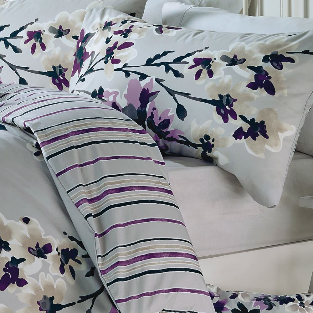 a superior printed duvet cover set with a unique floral pattern designed and made by dreams n drapes single quilt set includes a pillowcase while double - Floral Duvet Covers