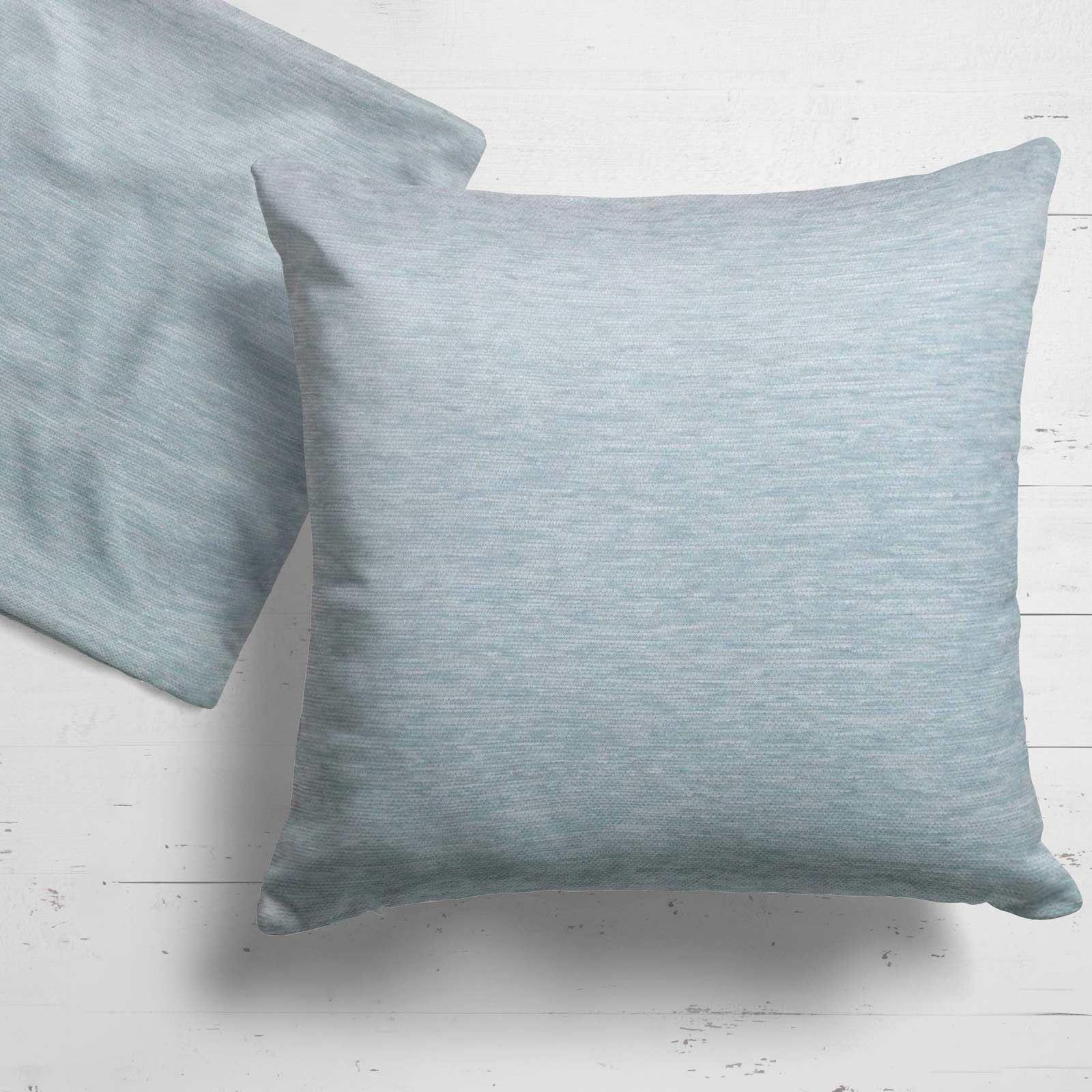 Set-of-2-Chenille-Cushion-Covers-Luxury-Plain-Cushions-Cover-Pairs-18-034-x-18-034 thumbnail 27