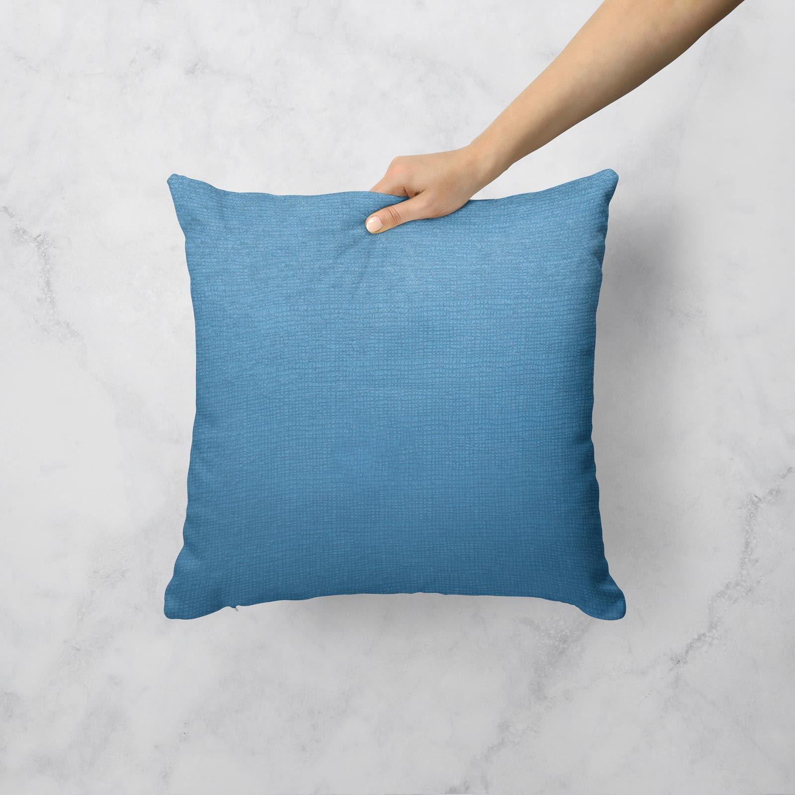 Teal-Blue-Duck-Egg-Cushion-Covers-18-034-x18-034-45cm-x-45cm-Luxury-Cover thumbnail 18
