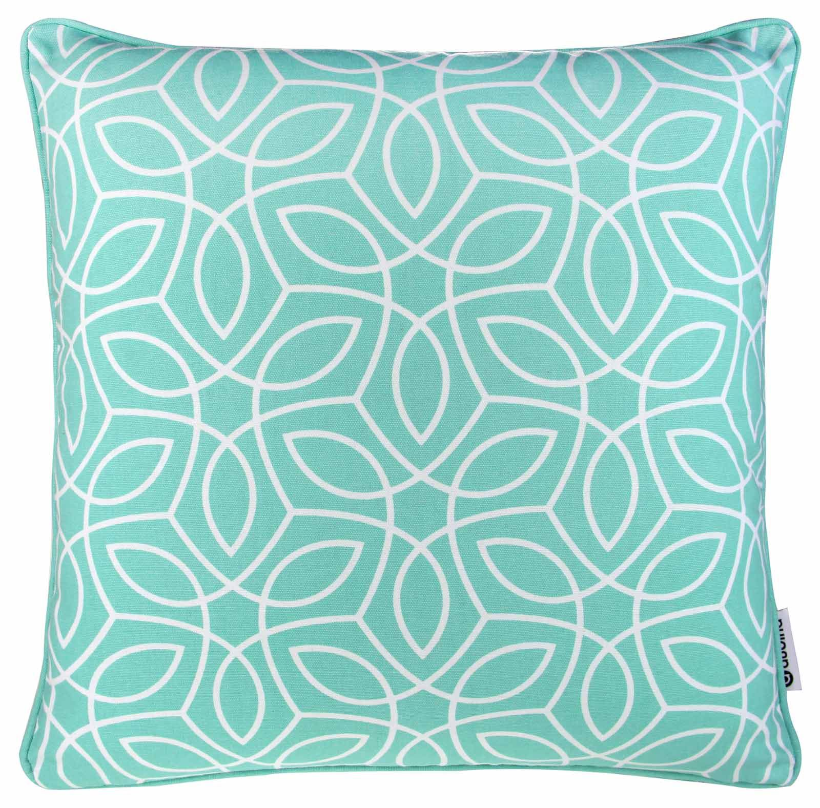Modern Decorative Pillow Covers : MODERN GEOMETRIC CUSHION COVERS 100% COTTON PRINTED THROW PILLOW COVER 18