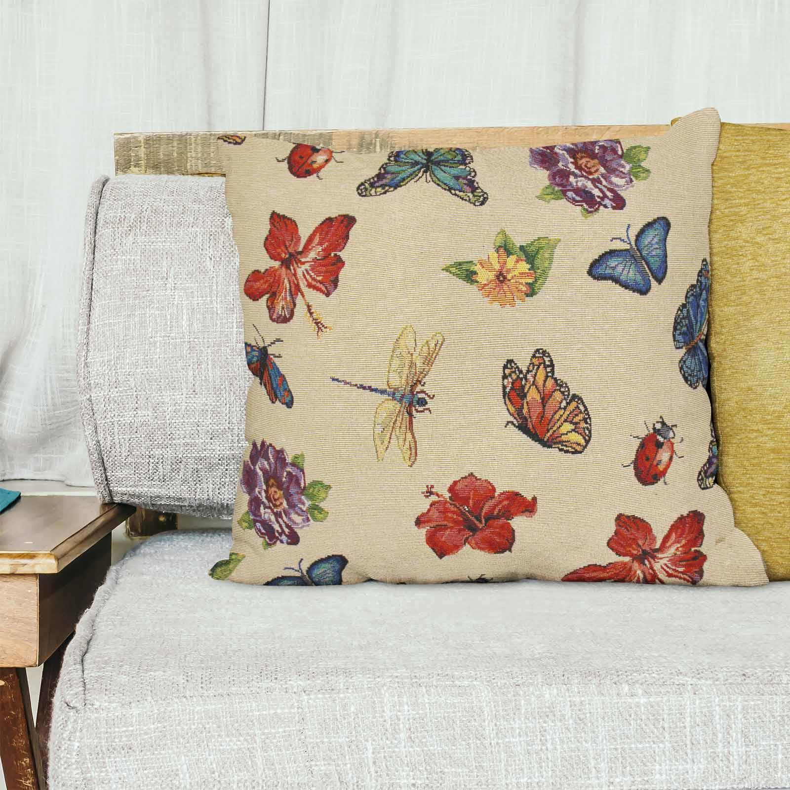 Tapestry-Cushion-Covers-Vintage-Pillow-Cover-Collection-18-034-45cm-Filled-Cushions thumbnail 111