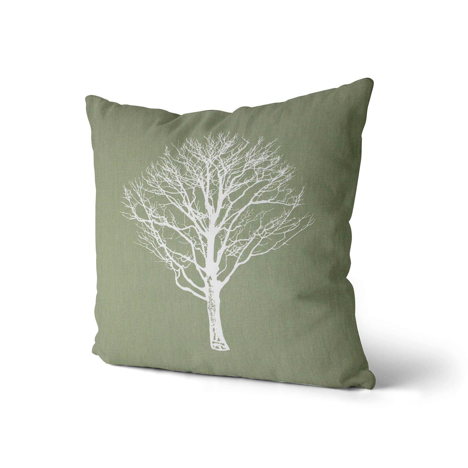 Woodland-Trees-Cushion-Cover-Modern-Reversible-Tree-Print-Covers-17-034-x-17-034 thumbnail 27