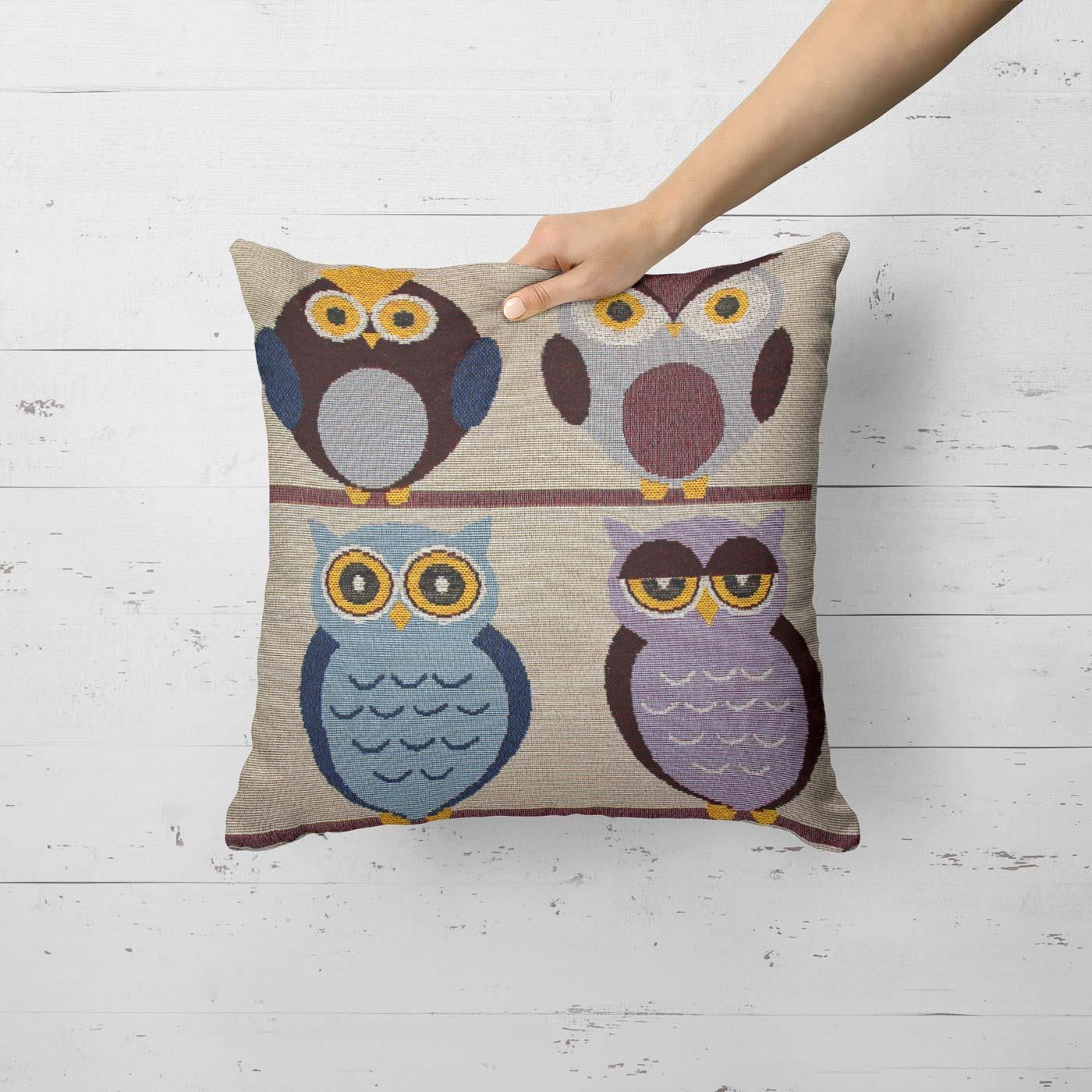 Tapestry-Cushion-Covers-Vintage-Pillow-Cover-Collection-18-034-45cm-Filled-Cushions thumbnail 151