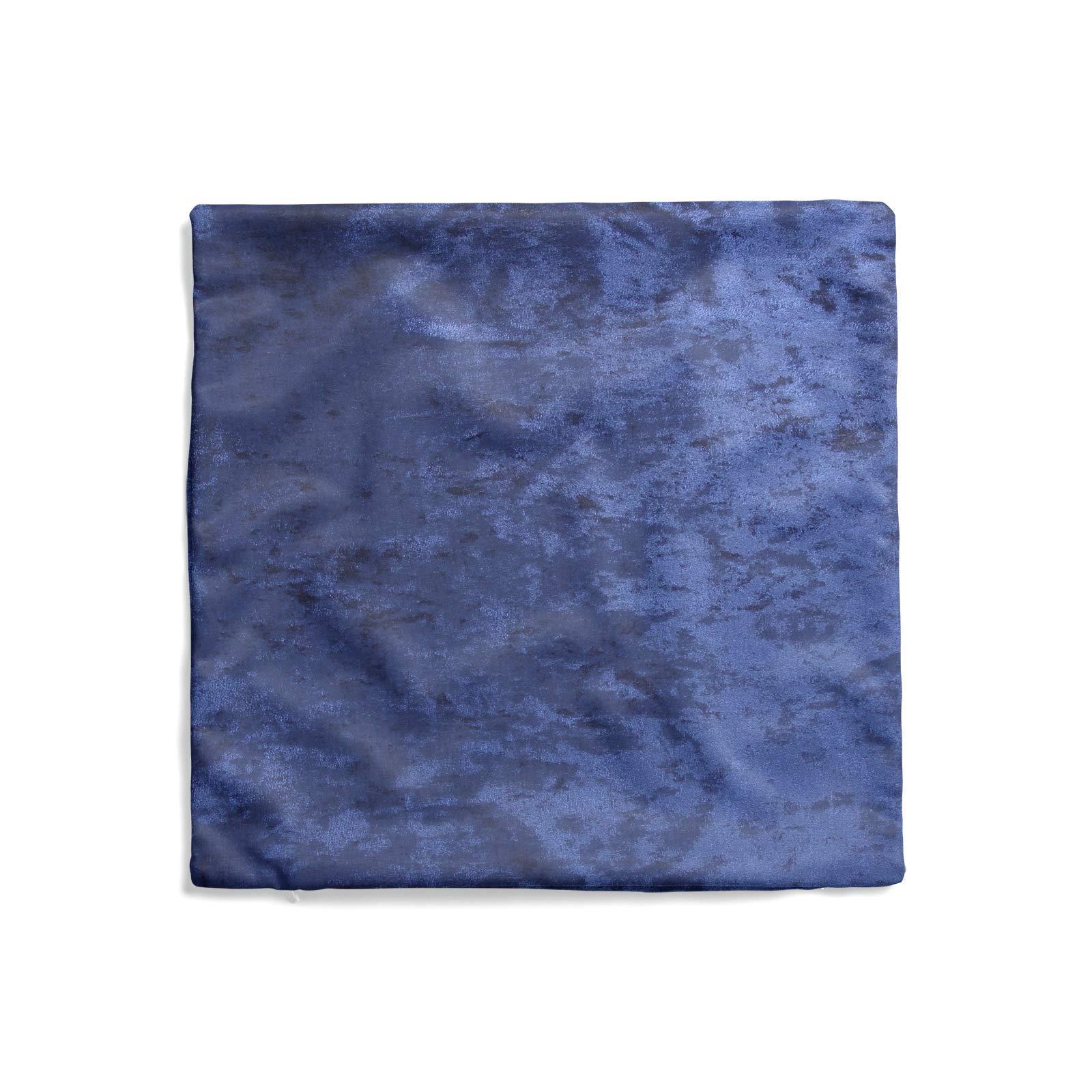 Cuscino-di-velluto-schiacciato-copre-GLAM-Tinta-Unita-Copricuscino-18-034-x-18-034-45cm-x-45cm miniatura 22