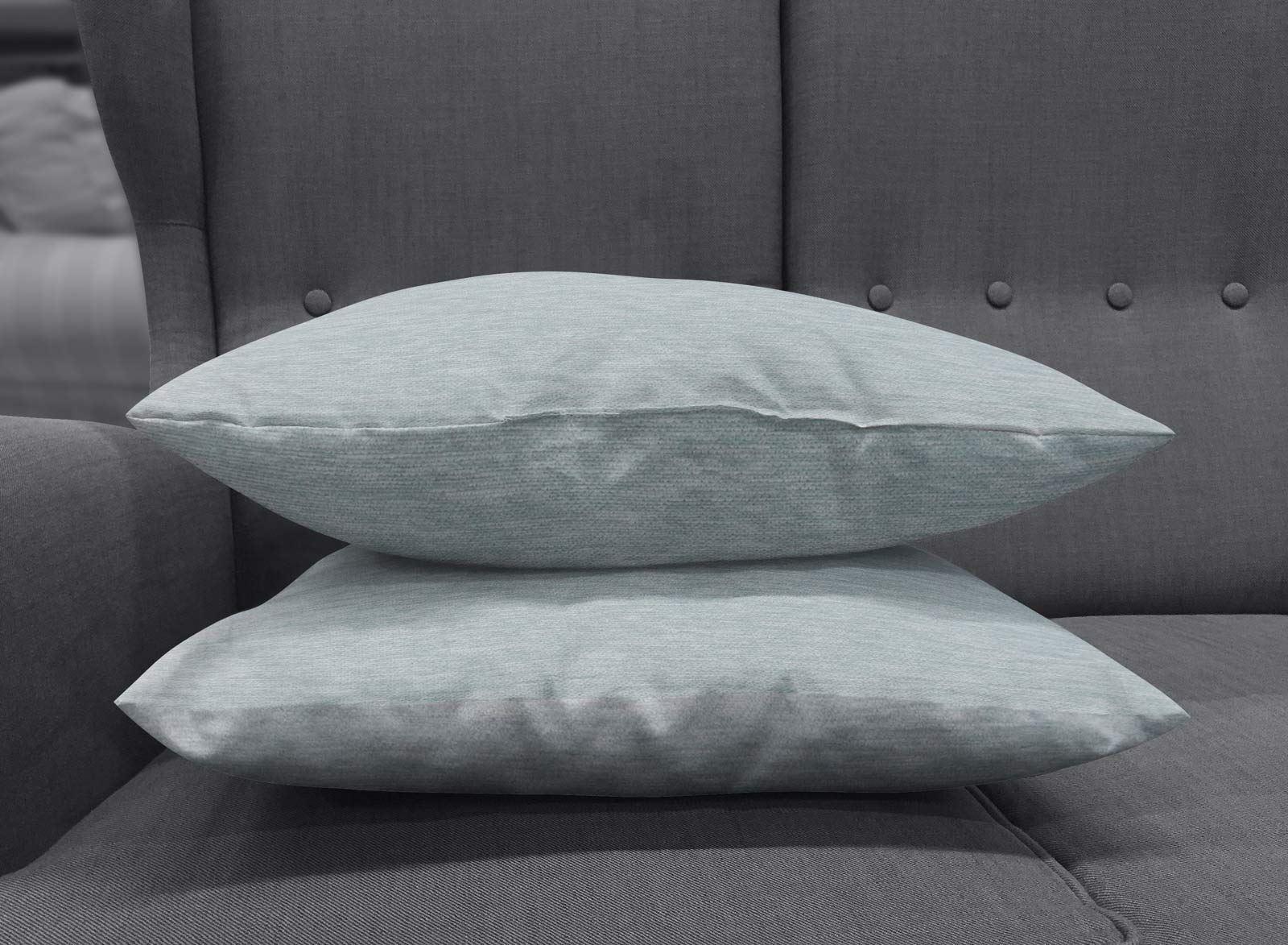 Set-of-2-Chenille-Cushion-Covers-Luxury-Plain-Cushions-Cover-Pairs-18-034-x-18-034 thumbnail 30