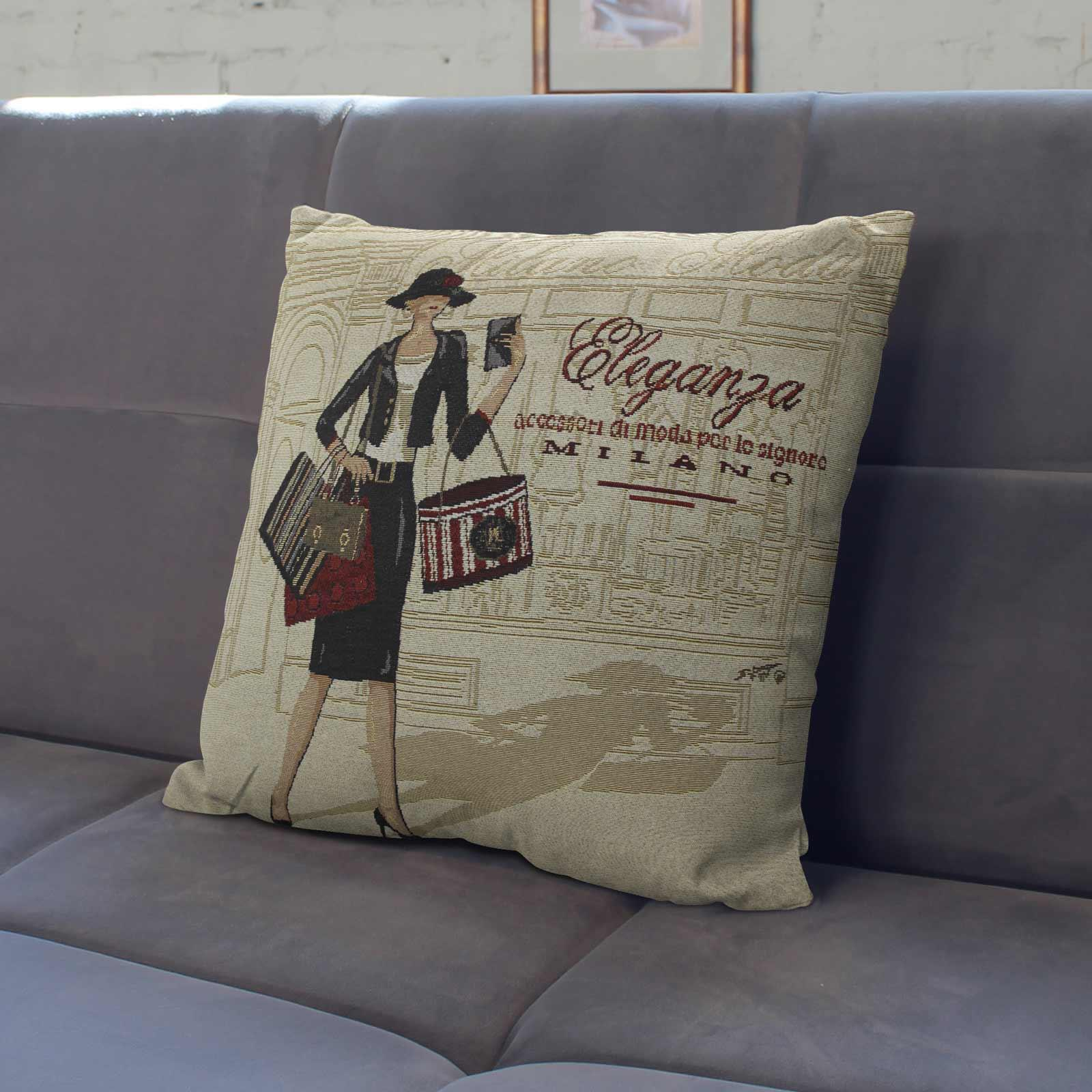 Tapestry-Cushion-Covers-Vintage-Pillow-Cover-Collection-18-034-45cm-Filled-Cushions thumbnail 122