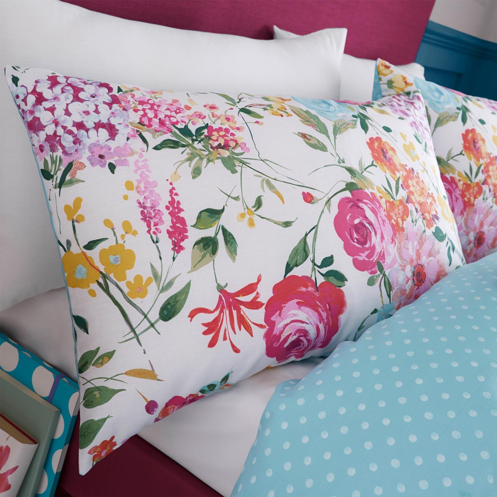 Catherine-Lansfield-Salisbury-Pink-cubierta-del-edredon-edredon-cubre-floral-de-conjuntos-de-cama miniatura 9