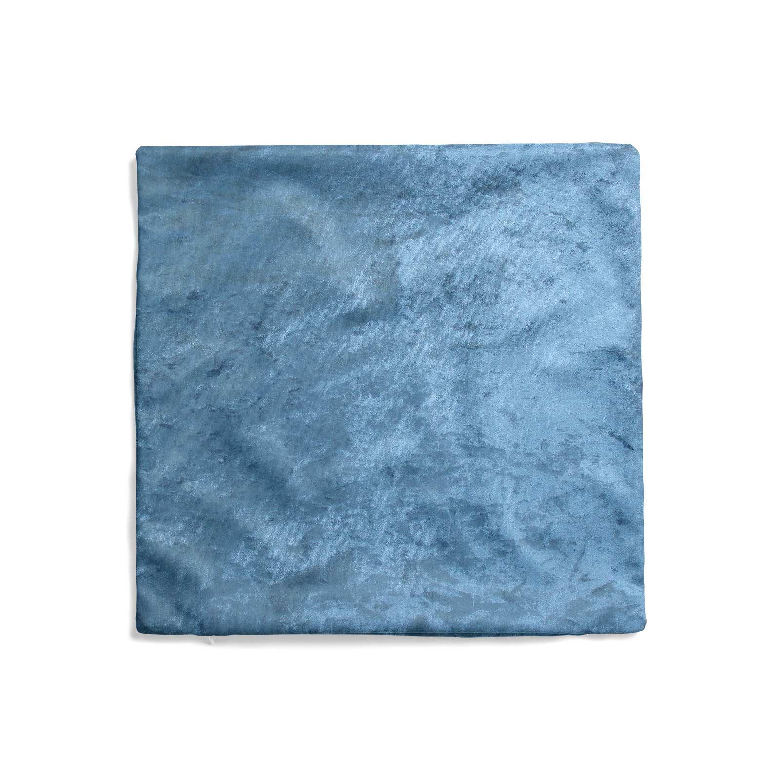 Cuscino-di-velluto-schiacciato-copre-GLAM-Tinta-Unita-Copricuscino-18-034-x-18-034-45cm-x-45cm miniatura 16