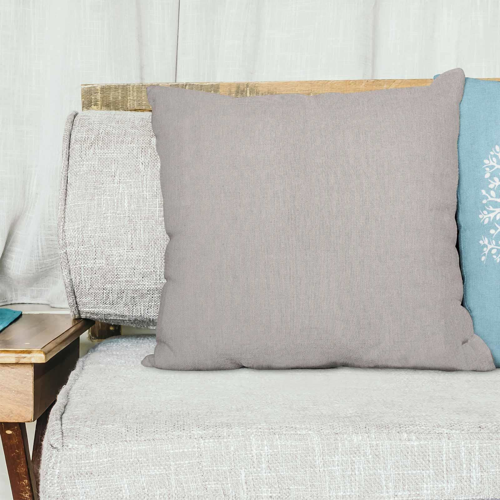 Grey-Ochre-Mustard-Cushion-Cover-Collection-17-034-18-034-Covers-Filled-Cushions thumbnail 67