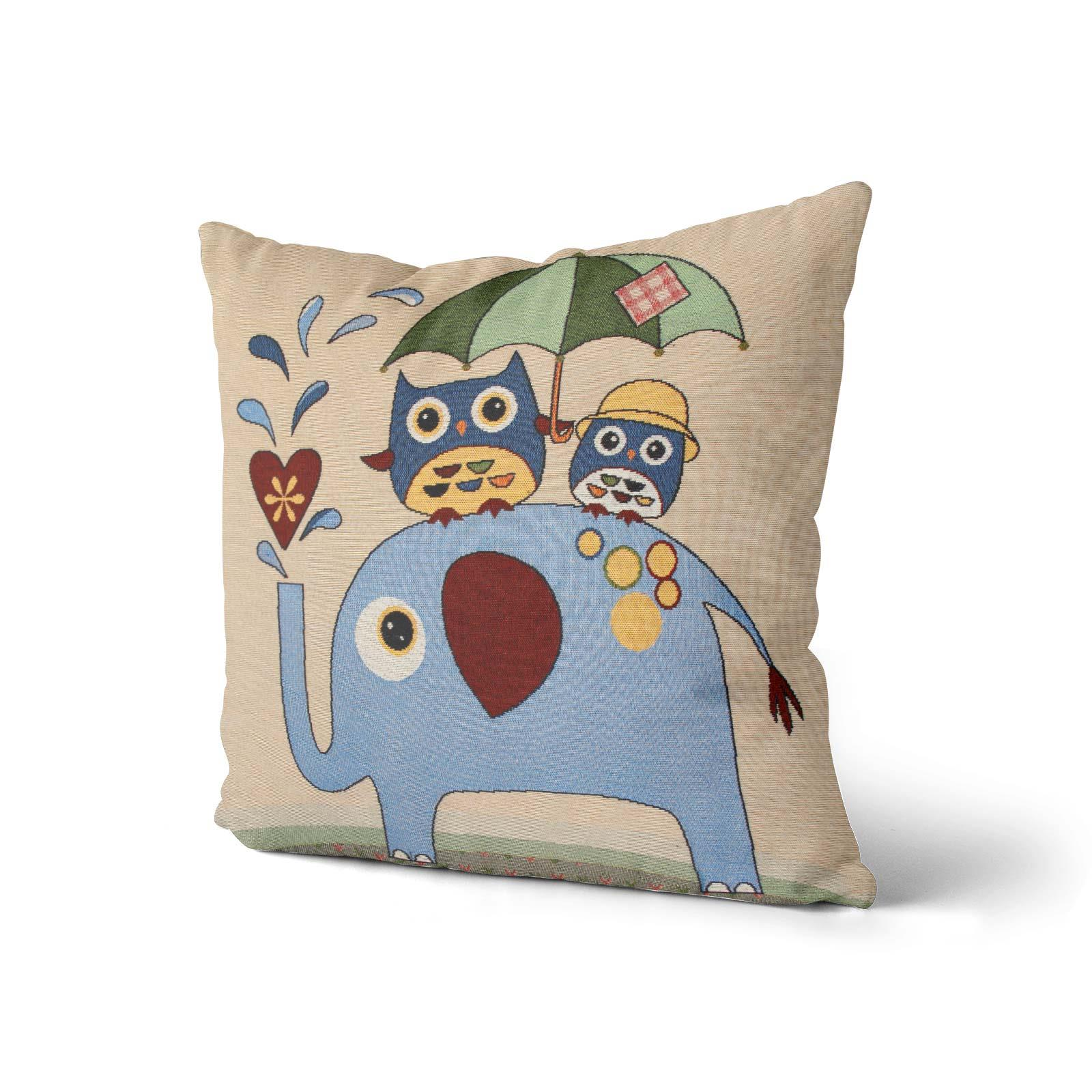 Tapestry-Cushion-Covers-Vintage-Pillow-Cover-Collection-18-034-45cm-Filled-Cushions thumbnail 49