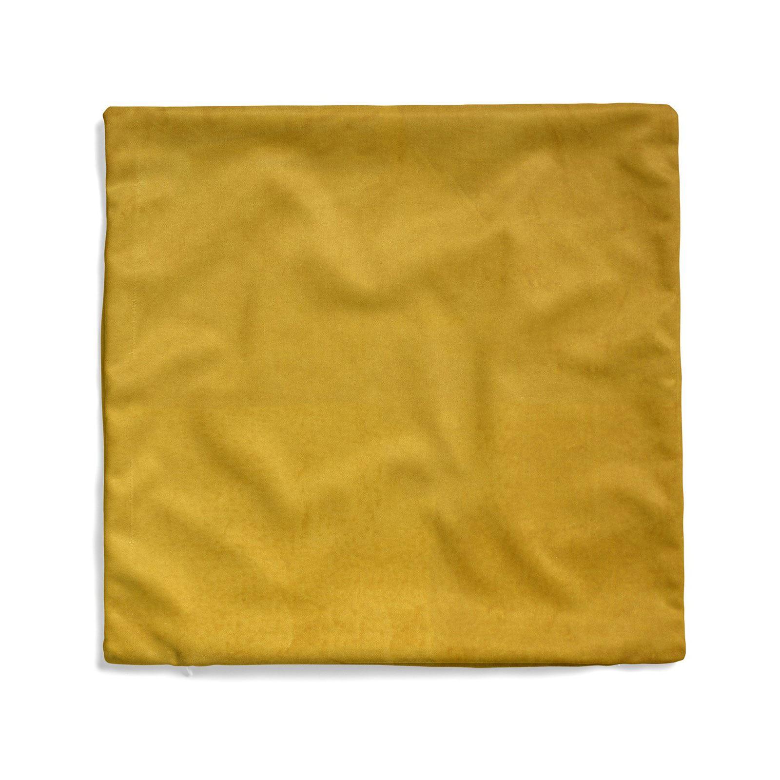 Ochre-Yellow-Silver-Mustard-Cushion-Covers-18-034-x-18-034-45cm-x-45cm-Cover