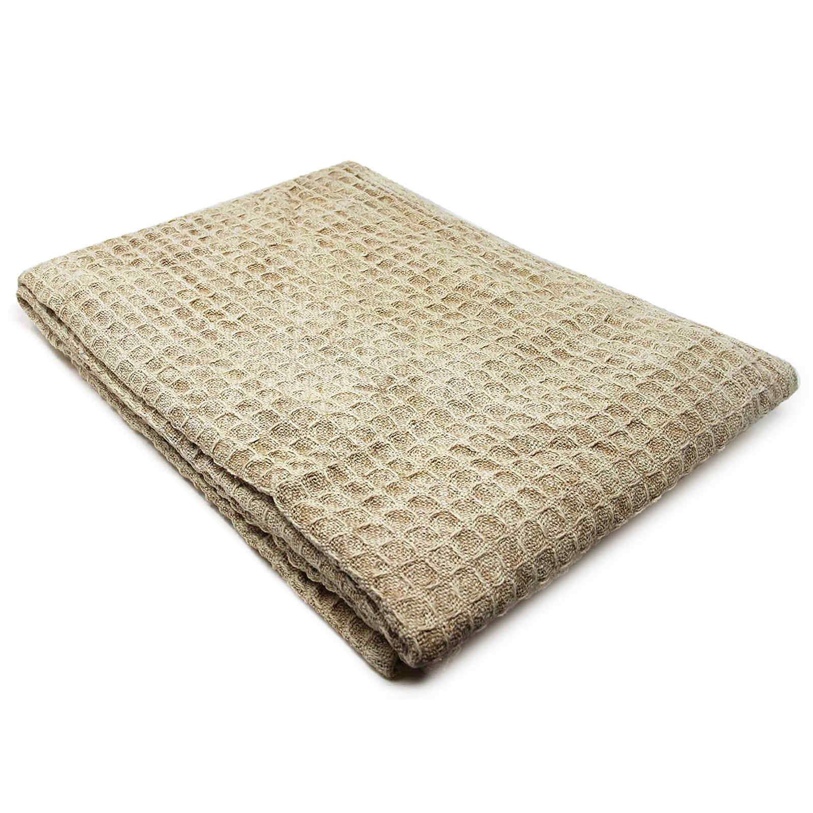 Oregon-Stonewash-Waffle-Throw-Modern-Distressed-Sofa-Bed-Blankets-100-Cotton thumbnail 7