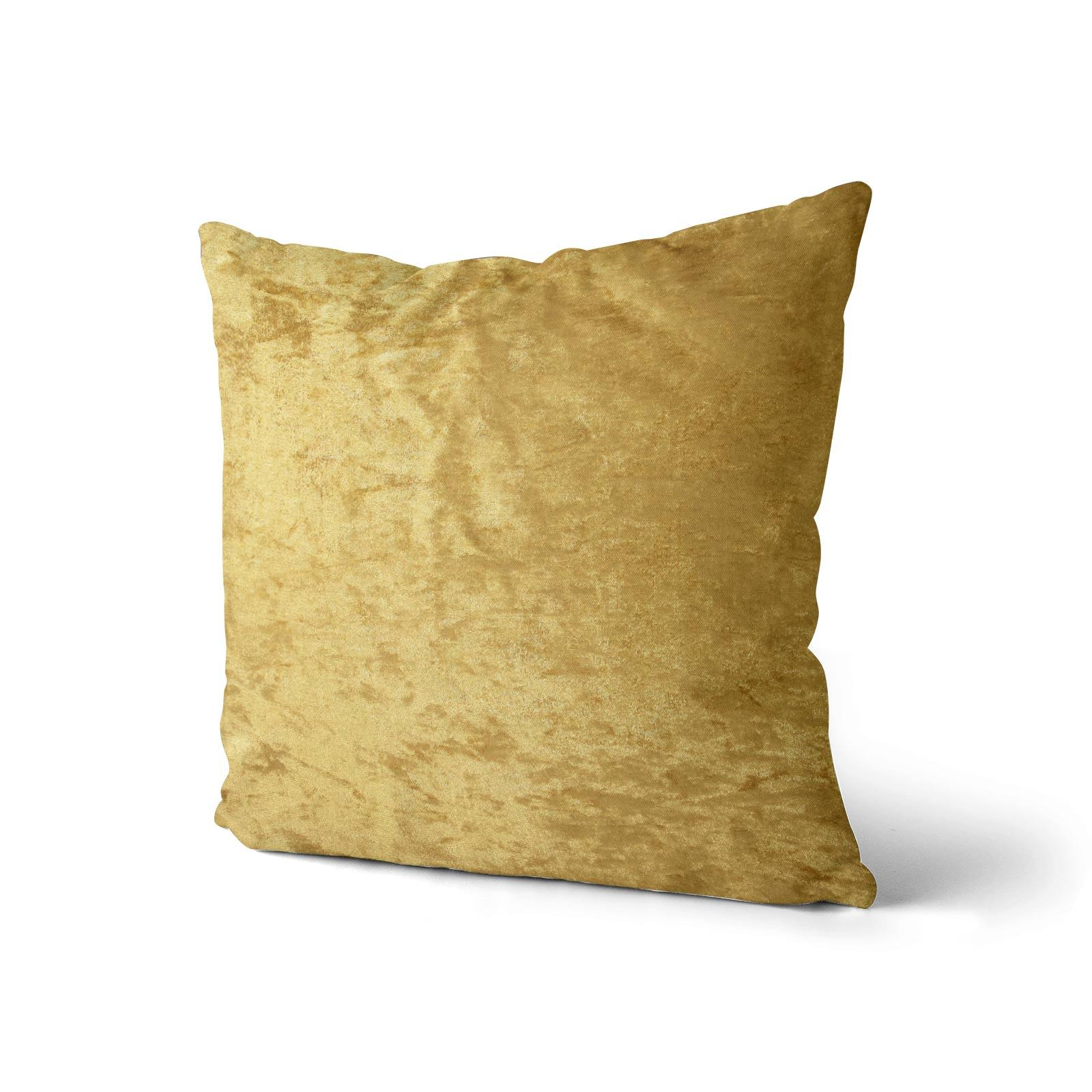 Cuscino-di-velluto-schiacciato-copre-GLAM-Tinta-Unita-Copricuscino-18-034-x-18-034-45cm-x-45cm miniatura 11