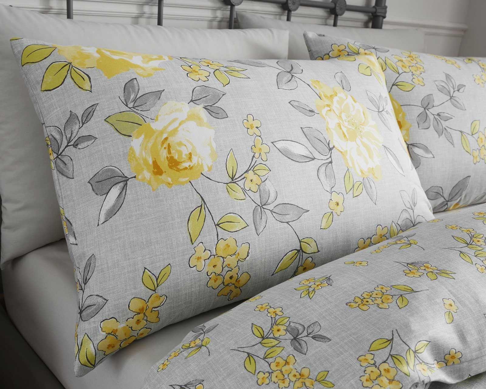 Mostaza-amarillo-ocre-Conjunto-de-Edredon-De-Funda-De-Edredon-Funda-De-Almohada-Individual-Doble miniatura 8
