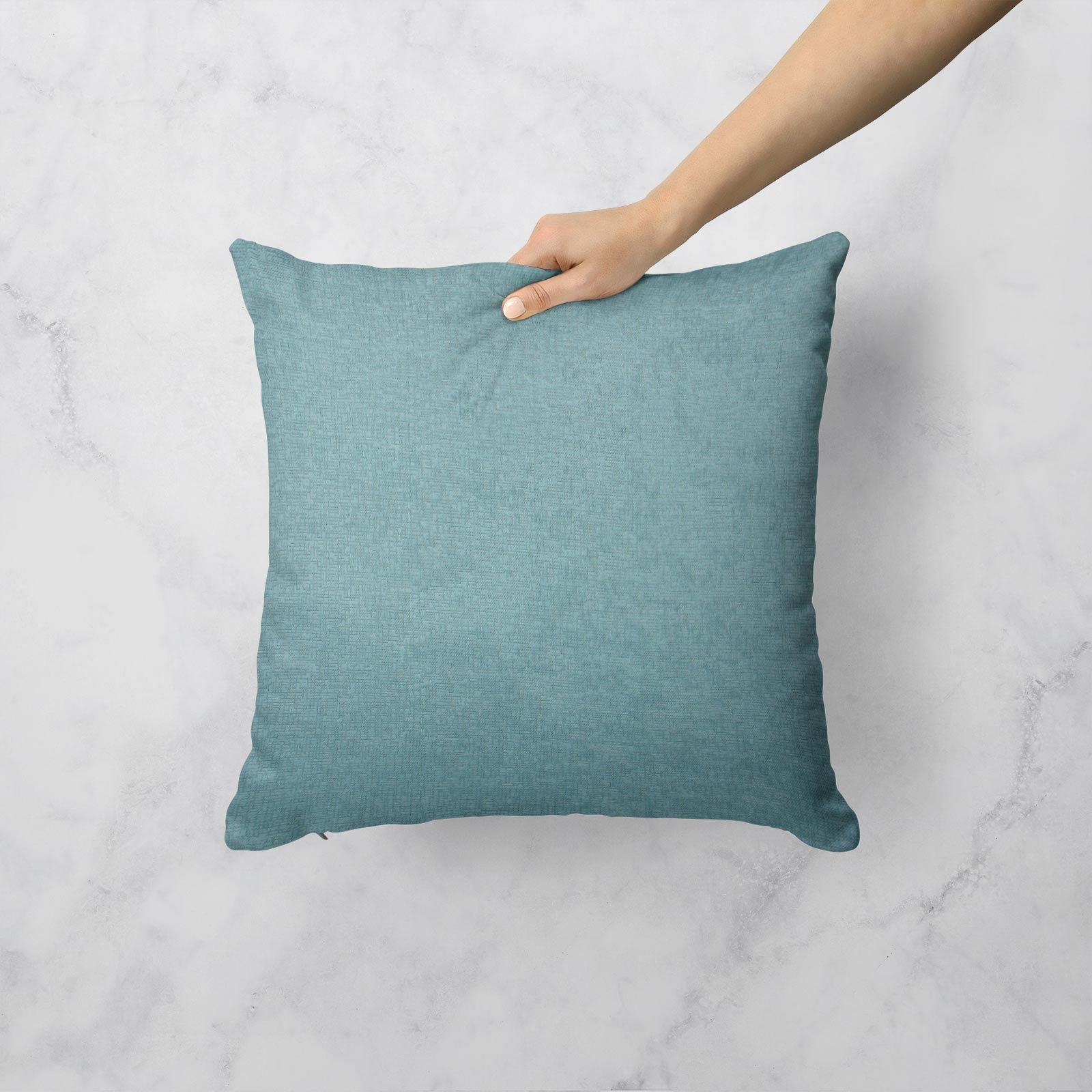 Teal-Blue-Duck-Egg-Cushion-Covers-18-034-x18-034-45cm-x-45cm-Luxury-Cover thumbnail 12
