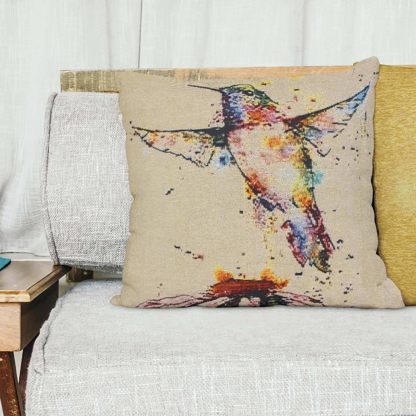 Tapestry-Cushion-Covers-Vintage-Pillow-Cover-Collection-18-034-45cm-Filled-Cushions thumbnail 86