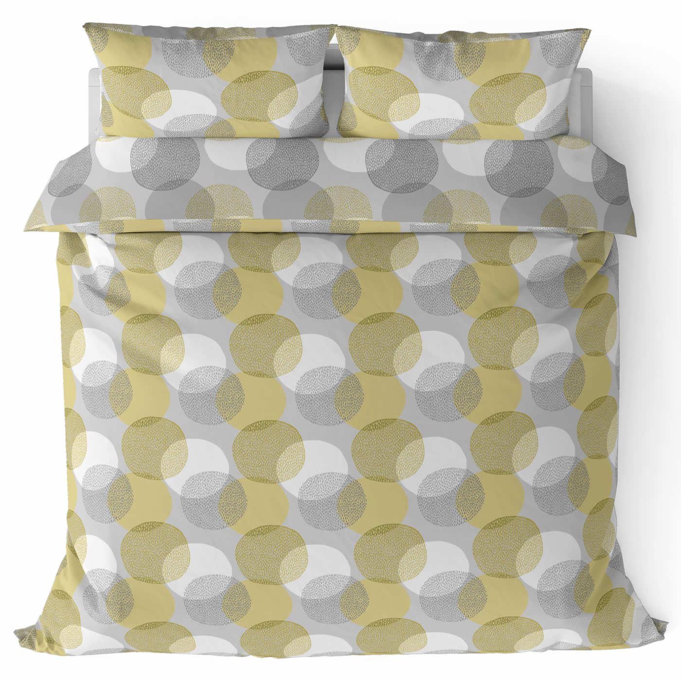 Mostaza-amarillo-ocre-Funda-de-edredon-impreso-Edredon-juego-ropa-de-cama-cubre-conjuntos miniatura 47