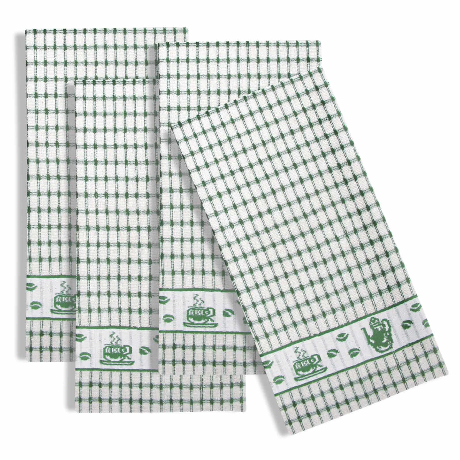 Packs-of-2-4-6-12-Tea-Towels-100-Cotton-Terry-Kitchen-Dish-Drying-Towel-Sets thumbnail 60