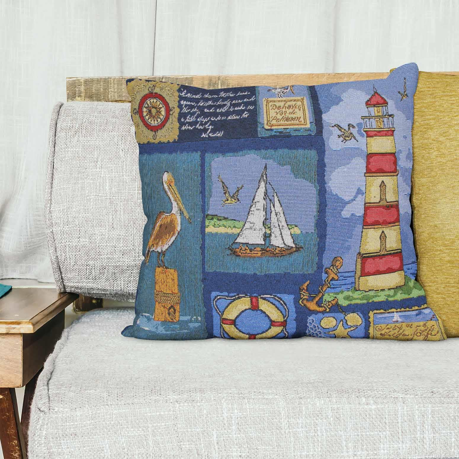 Tapestry-Cushion-Covers-Vintage-Pillow-Cover-Collection-18-034-45cm-Filled-Cushions thumbnail 167