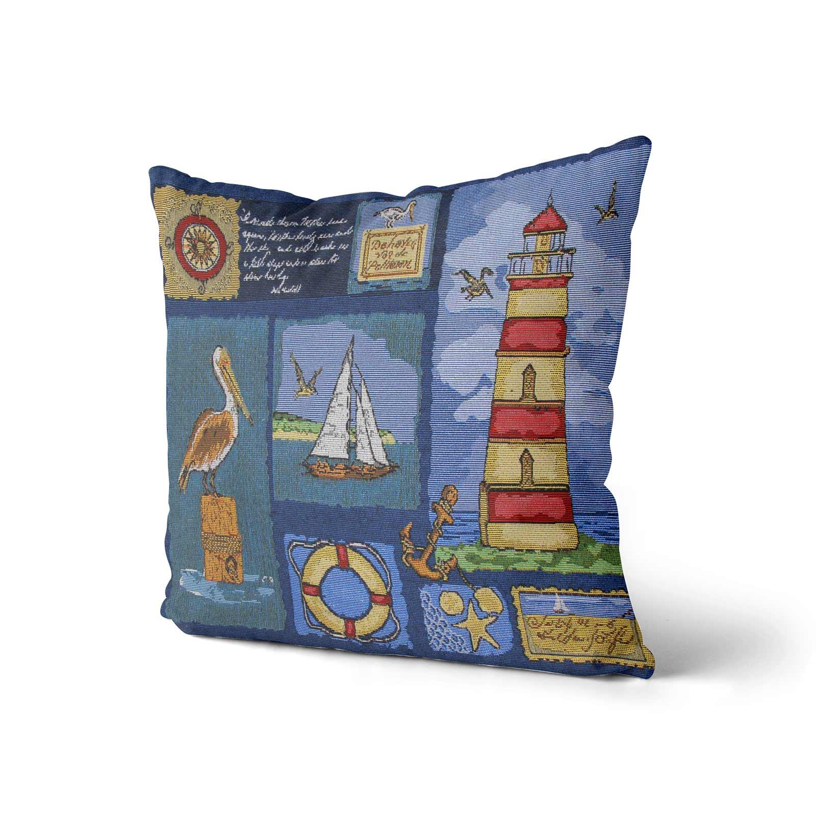 Tapestry-Cushion-Covers-Vintage-Pillow-Cover-Collection-18-034-45cm-Filled-Cushions thumbnail 165