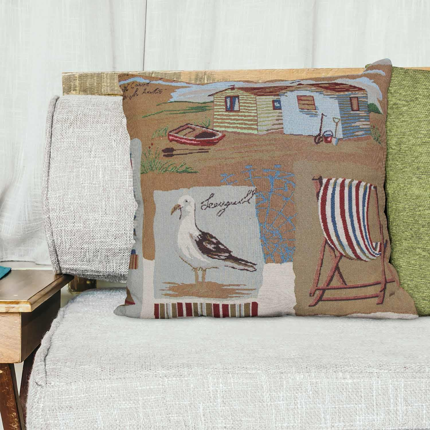 Tapestry-Cushion-Covers-Vintage-Pillow-Cover-Collection-18-034-45cm-Filled-Cushions thumbnail 178