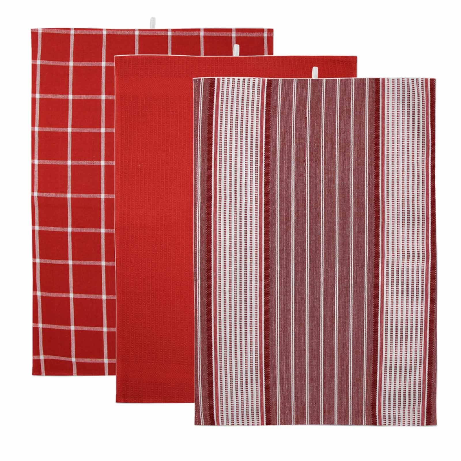 Pack-of-3-Tea-Towels-100-Cotton-Kitchen-Dish-Towel-Drying-Set thumbnail 38