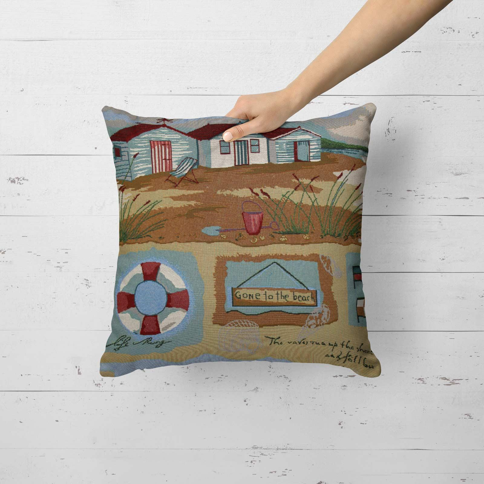 Tapestry-Cushion-Covers-Vintage-Pillow-Cover-Collection-18-034-45cm-Filled-Cushions thumbnail 60