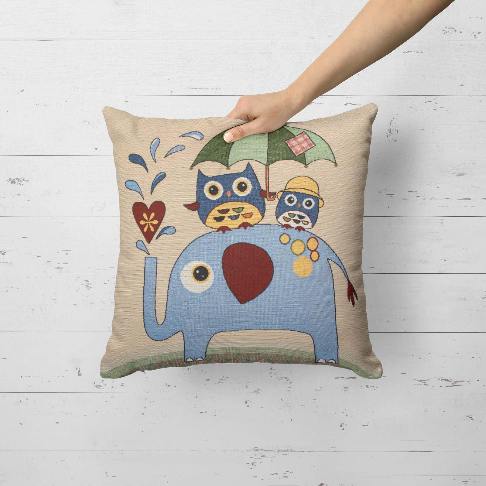 Tapestry-Cushion-Covers-Vintage-Pillow-Cover-Collection-18-034-45cm-Filled-Cushions thumbnail 50