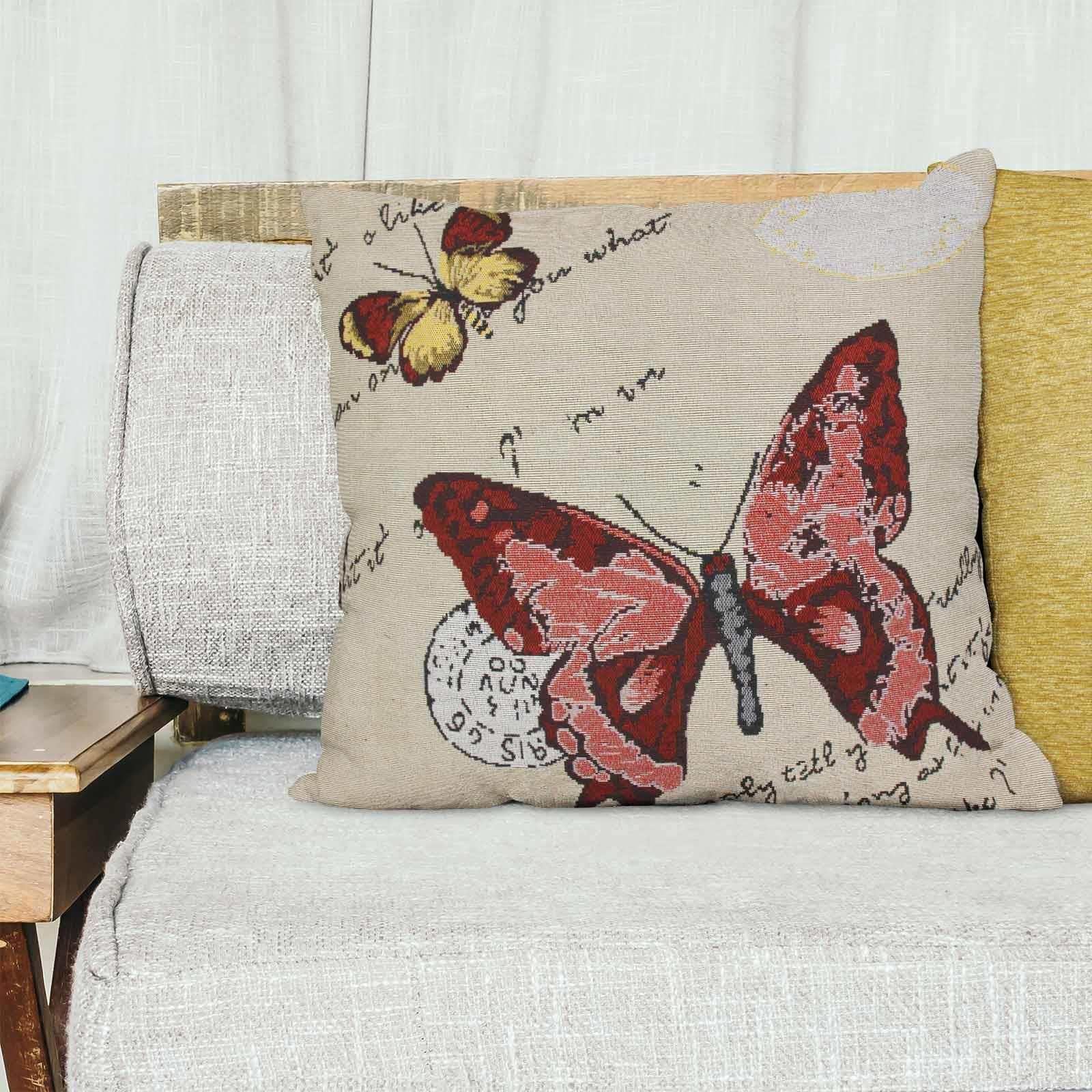 Tapestry-Cushion-Covers-Vintage-Pillow-Cover-Collection-18-034-45cm-Filled-Cushions thumbnail 16