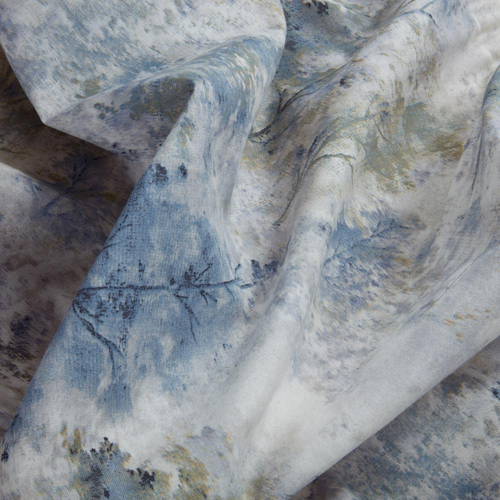 Woodland-Cinta-superior-Cortinas-de-arboles-de-impresion-Ready-Made-3-034-pares-de-cortina-plisado miniatura 13