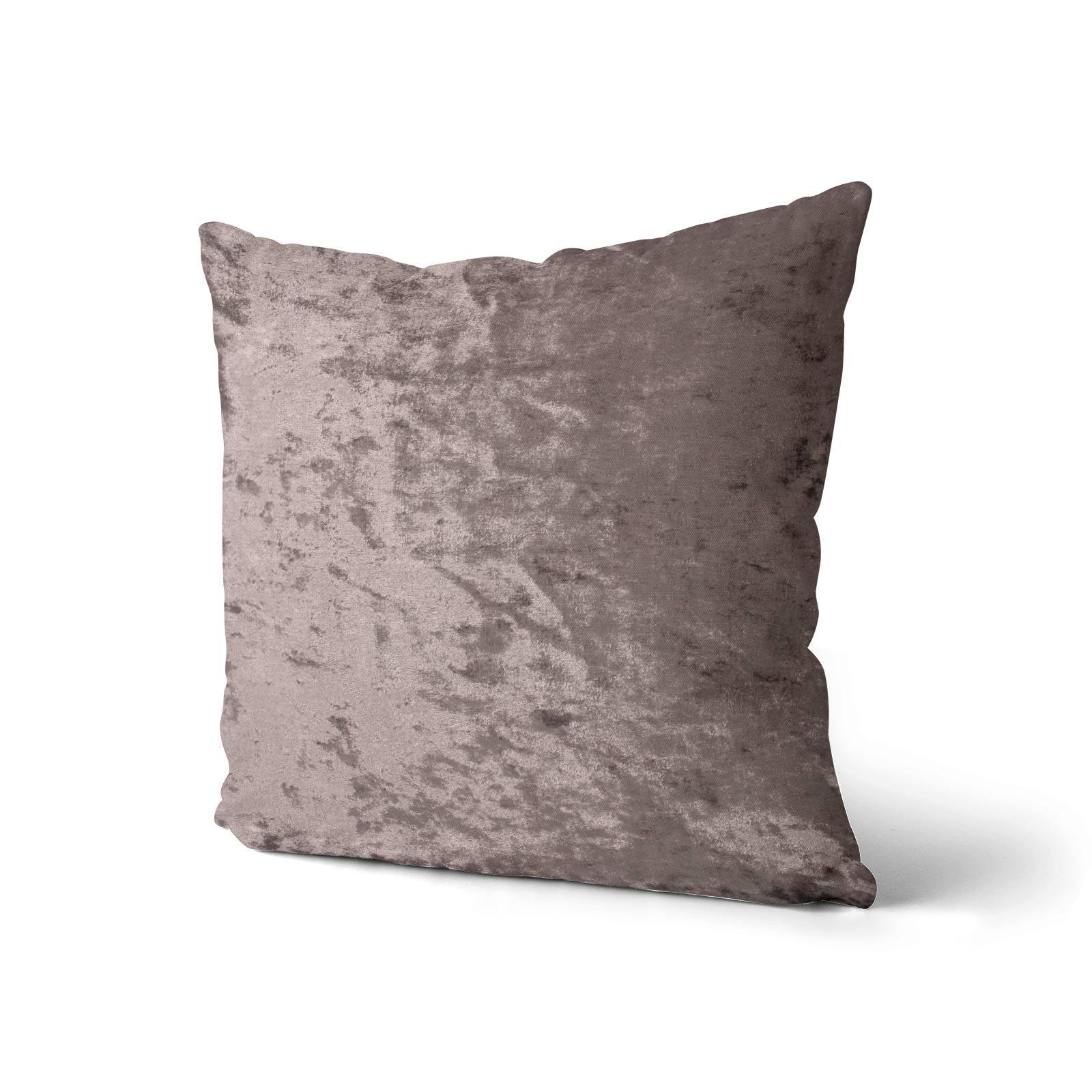 Cuscino-di-velluto-schiacciato-copre-GLAM-Tinta-Unita-Copricuscino-18-034-x-18-034-45cm-x-45cm miniatura 47