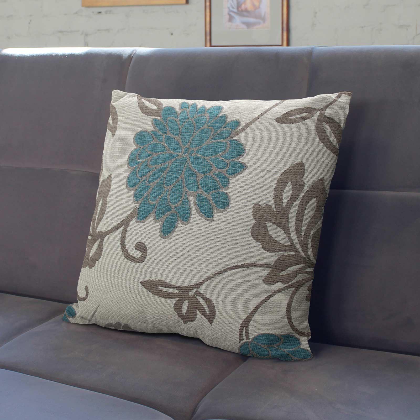 Teal-Blue-Duck-Egg-Cushion-Covers-18-034-x18-034-45cm-x-45cm-Luxury-Cover thumbnail 26