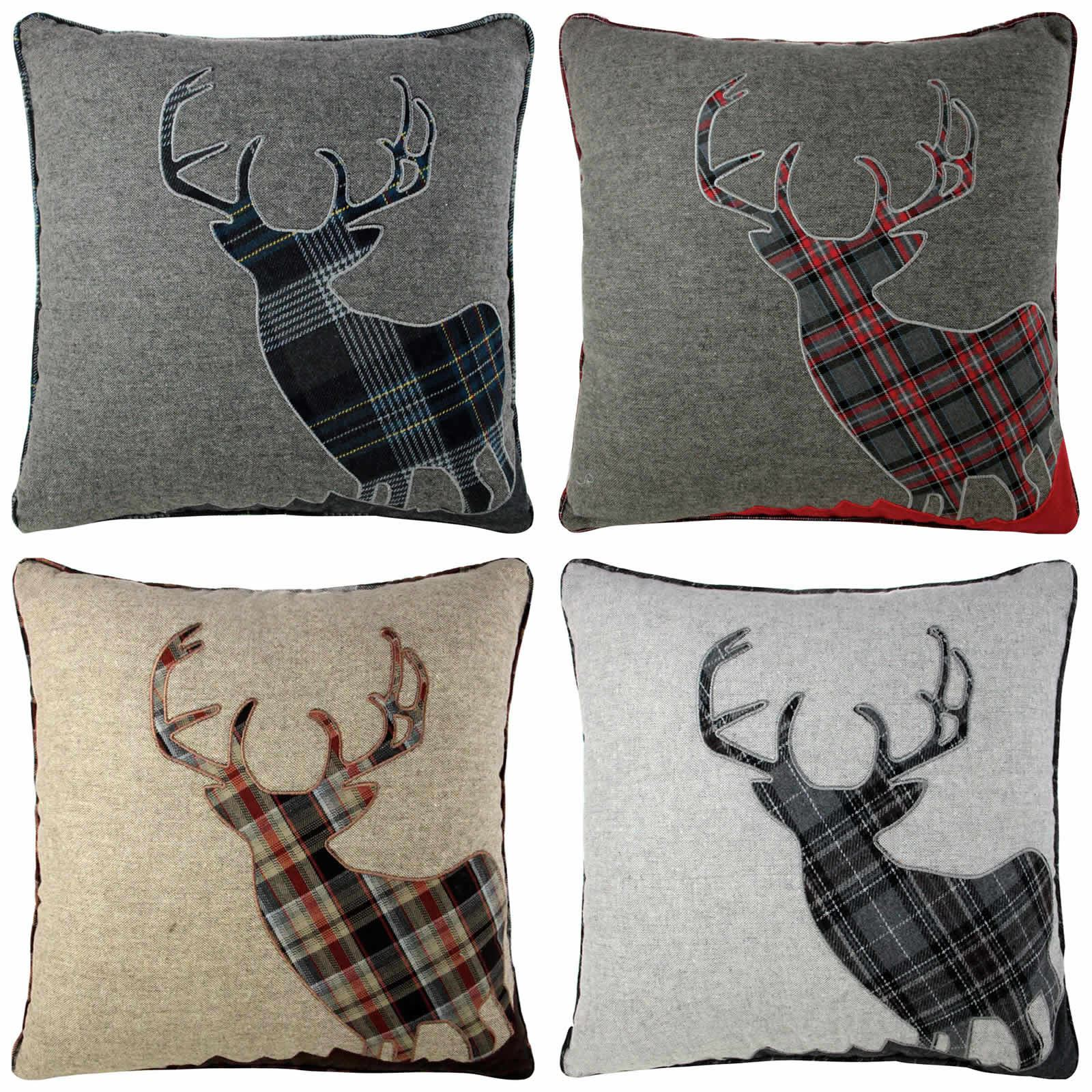pillow enchante product pillows home throw turkish deer