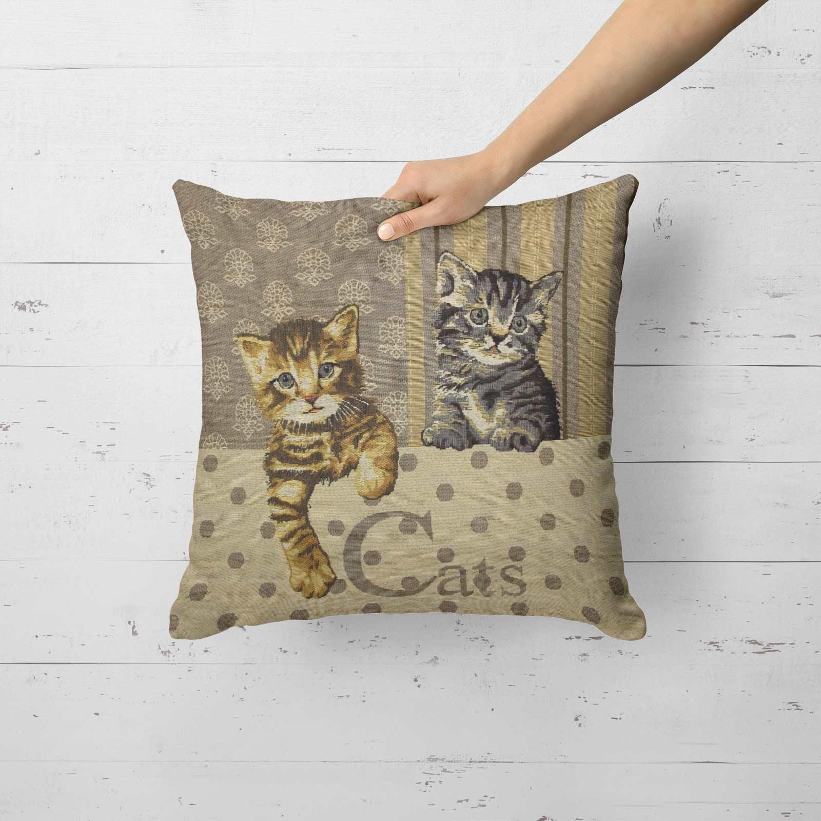 Tapestry-Cushion-Covers-Vintage-Pillow-Cover-Collection-18-034-45cm-Filled-Cushions thumbnail 20