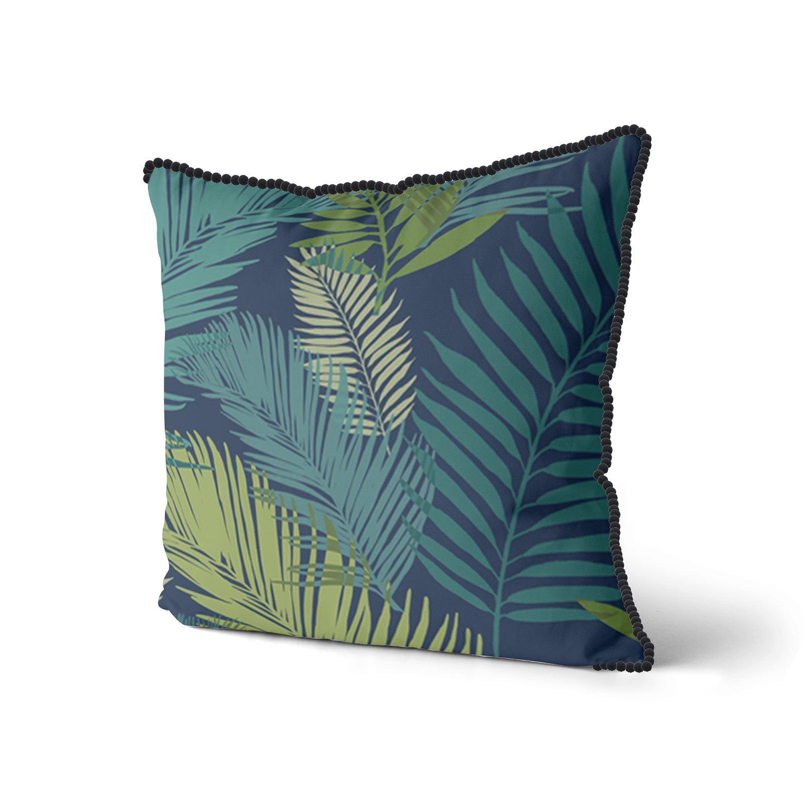 Teal-Blue-Duck-Egg-Cushion-Covers-18-034-x18-034-45cm-x-45cm-Luxury-Cover thumbnail 5