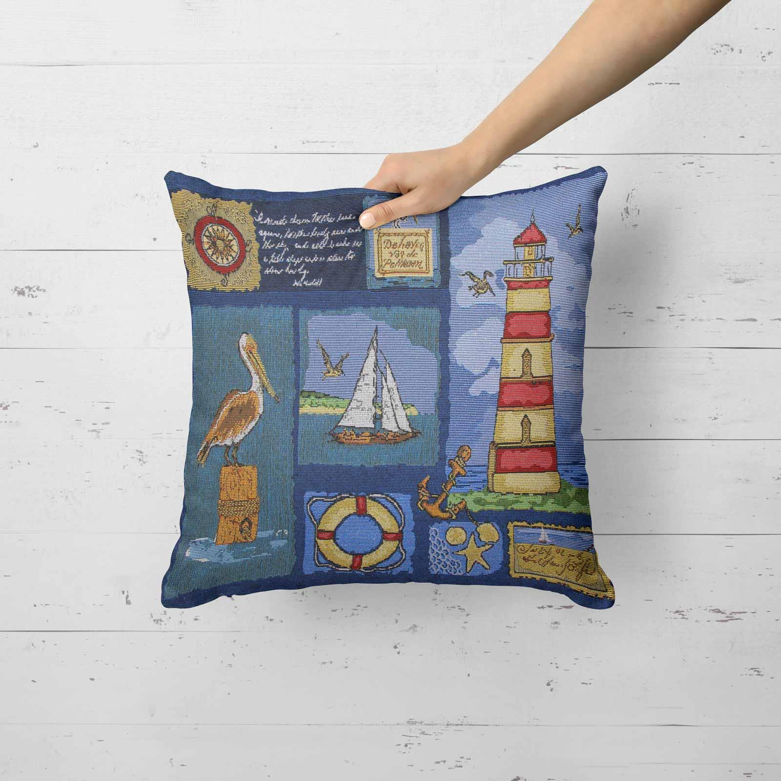 Tapestry-Cushion-Covers-Vintage-Pillow-Cover-Collection-18-034-45cm-Filled-Cushions thumbnail 166