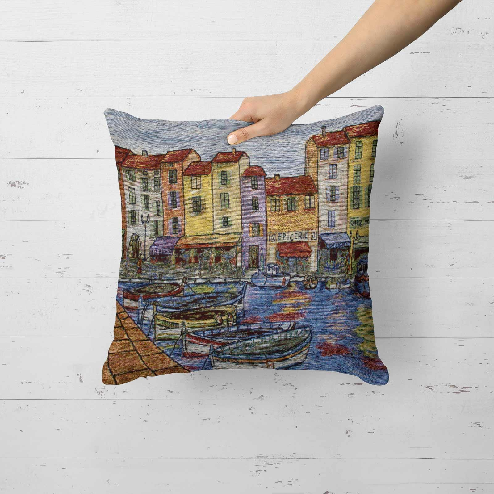 Tapestry-Cushion-Covers-Vintage-Pillow-Cover-Collection-18-034-45cm-Filled-Cushions thumbnail 70