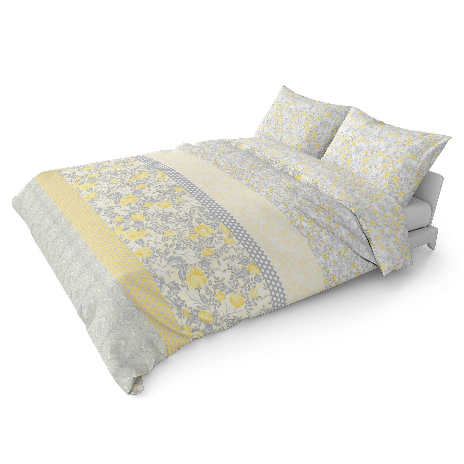 Mostaza-amarillo-ocre-Funda-de-edredon-impreso-Edredon-juego-ropa-de-cama-cubre-conjuntos miniatura 23