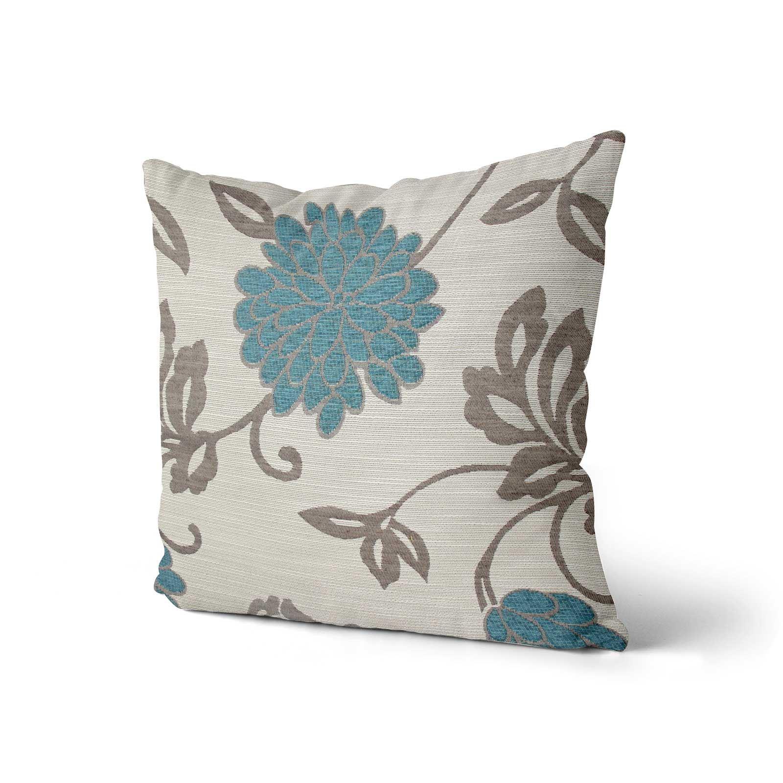 Teal-Blue-Duck-Egg-Cushion-Covers-18-034-x18-034-45cm-x-45cm-Luxury-Cover thumbnail 23